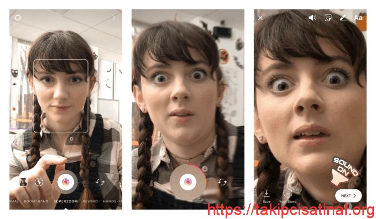 Instagram Superzoom Özelliğinde Sorunlar Yaşanıyor