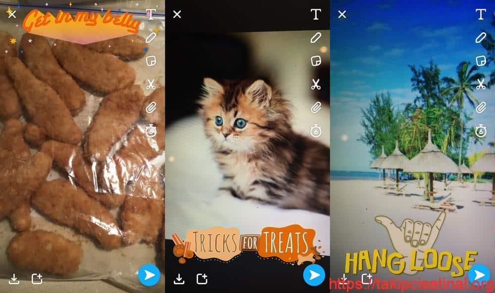 Snapchat Filtre Önerme