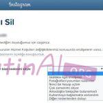 Instagram Hesabını Kalıcı Olarak Silme
