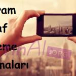Instagram Fotoğraf Düzenleme Uygulamaları