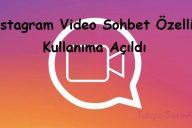 Instagram Video Sohbet Özelliği Kullanıma Açıldı