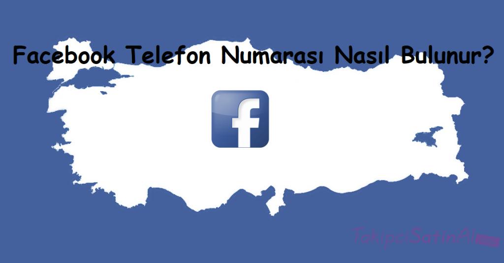 Facebook Telefon Numarası Nasıl Bulunur?