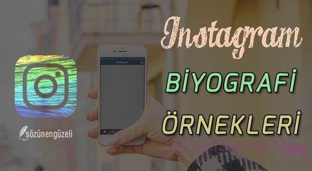 Instagram Bio Sözleri