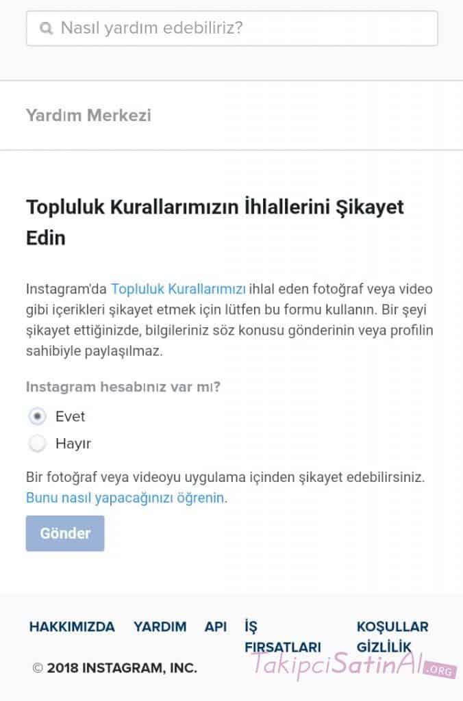 baskasinin instagram hesabi kapattirilabilir mi 2019 detayli anlatim