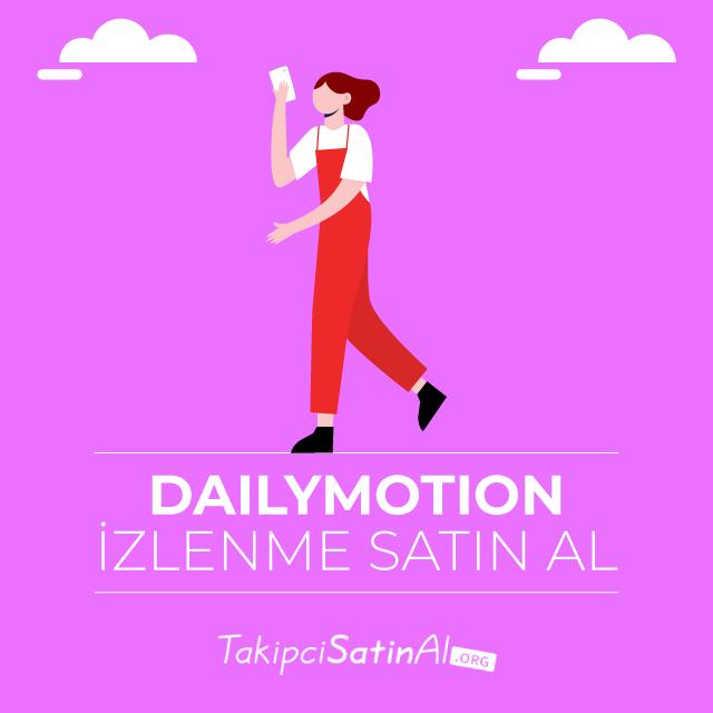 Dailymotion izlenme satın al