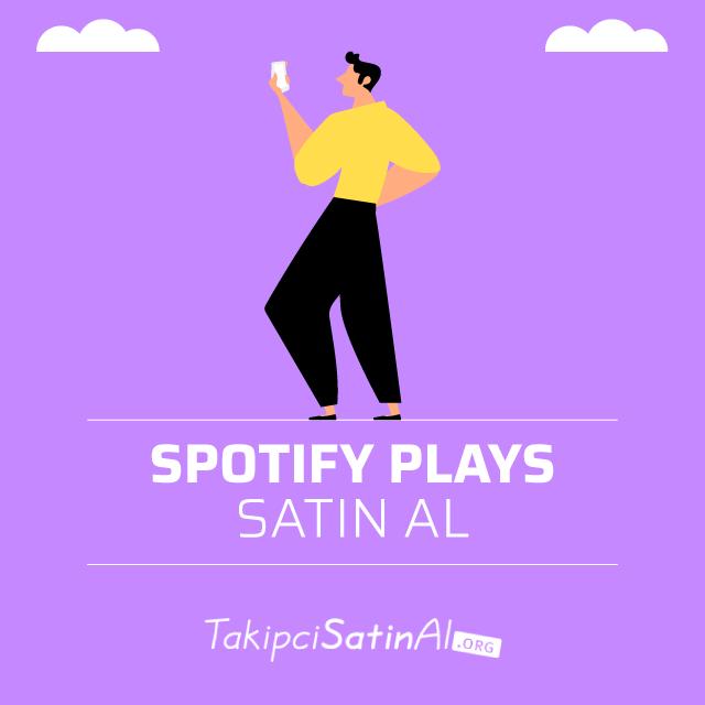 spotify plays satın al