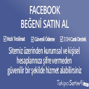 facebook beğeni al
