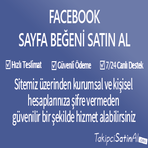 facebook sayfa beğeni al