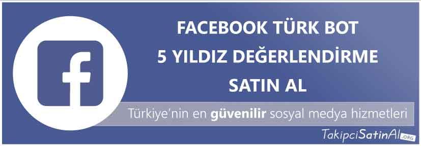 facebook türk 5 yıldız değerlendirme al