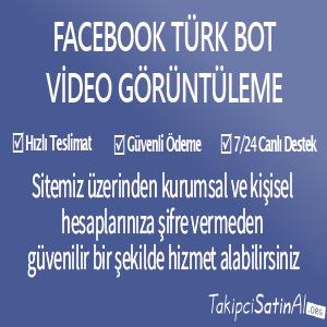 türk bot video görüntüleme al