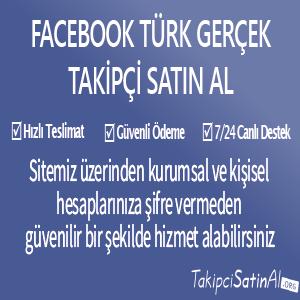 facebook türk gerçek takipçi al