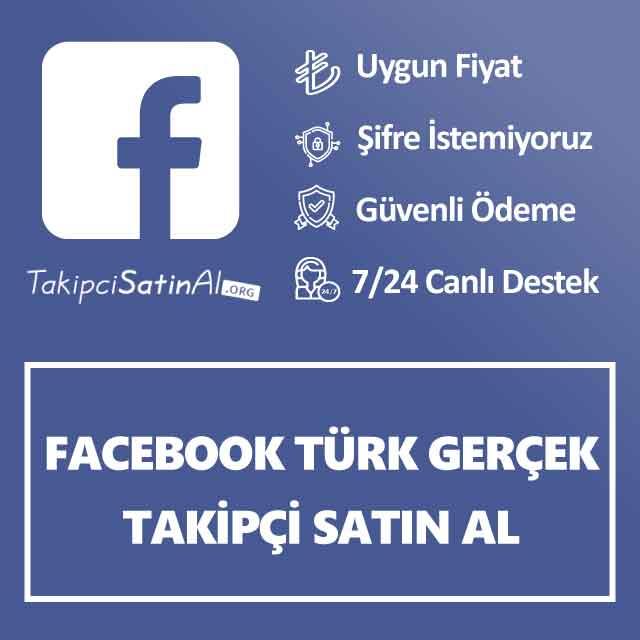 facebook türk gerçek takipçi satın al