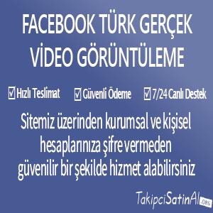 facebook türk gerçek video görüntüleme al