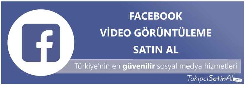 facebook video görüntüleme al