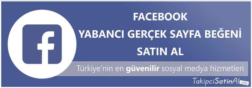 facebook yabancı sayfa beğeni al