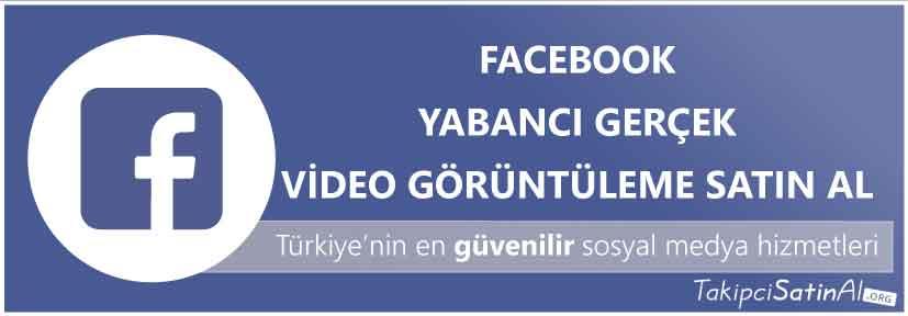 facebook yabancı video görüntüleme al