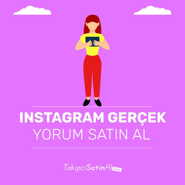 Instagram Gerçek Yorum Satın Al