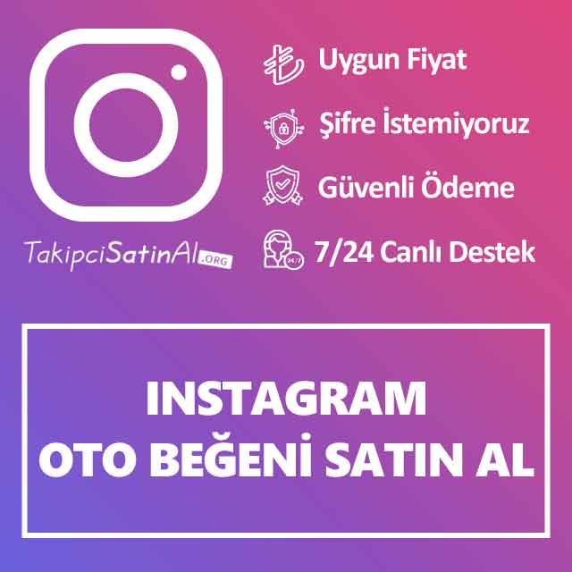 Instagram Oto Beğeni Satın Al