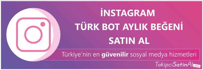 instagram türk aylık beğeni al