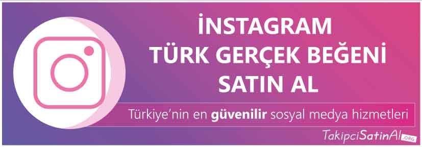 türk gerçek beğeni satın al