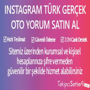 instagram türk gerçek oto yprum satın al