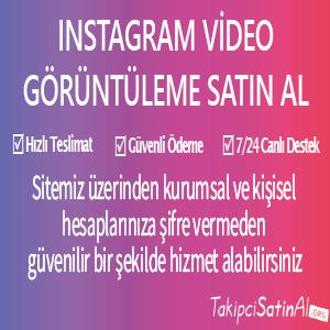 instagram video görüntüleme al