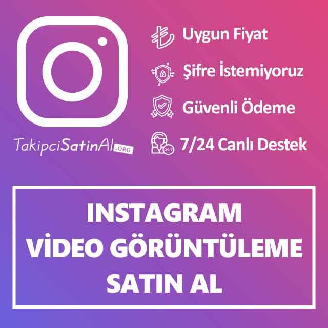 Instagram İzlenme Satın Al