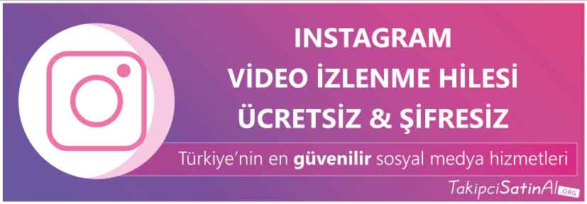 instagram video hilesi