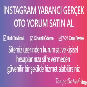 instagram yabancı