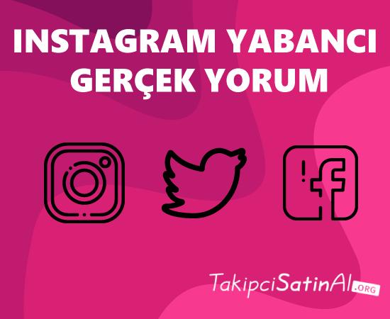 instagram yorum satın al