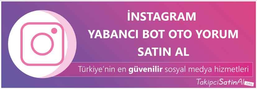 instagram yabancı oto yorum al