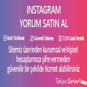 instagram yorum al