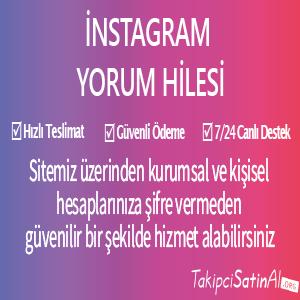 instagram yorum hile