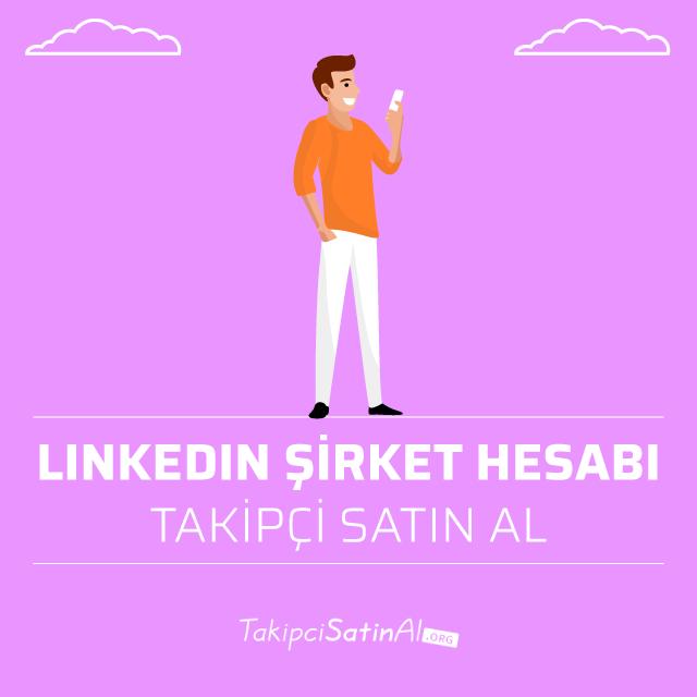 linkedin şirket hesabı takipçi satın al