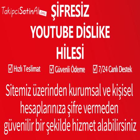 Şifresiz Youtube Dislike Hilesi