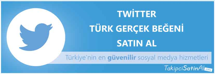 twitter türk beğeni al