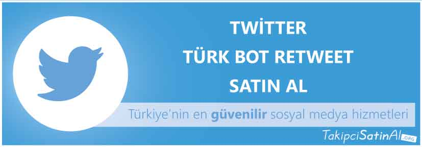 twitter türk retweet al