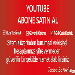 youtube abone al