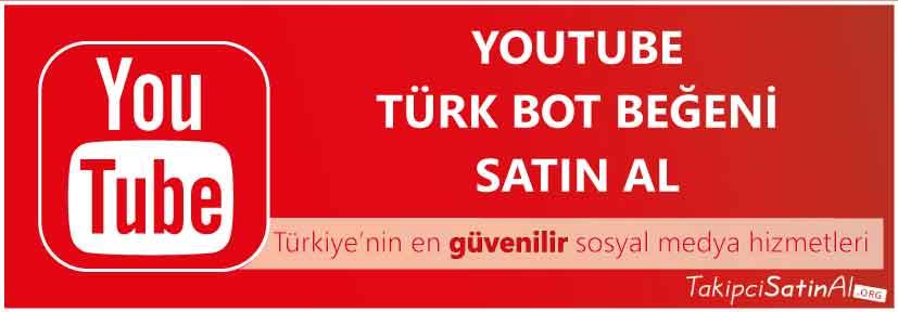 youtube türk beğeni al